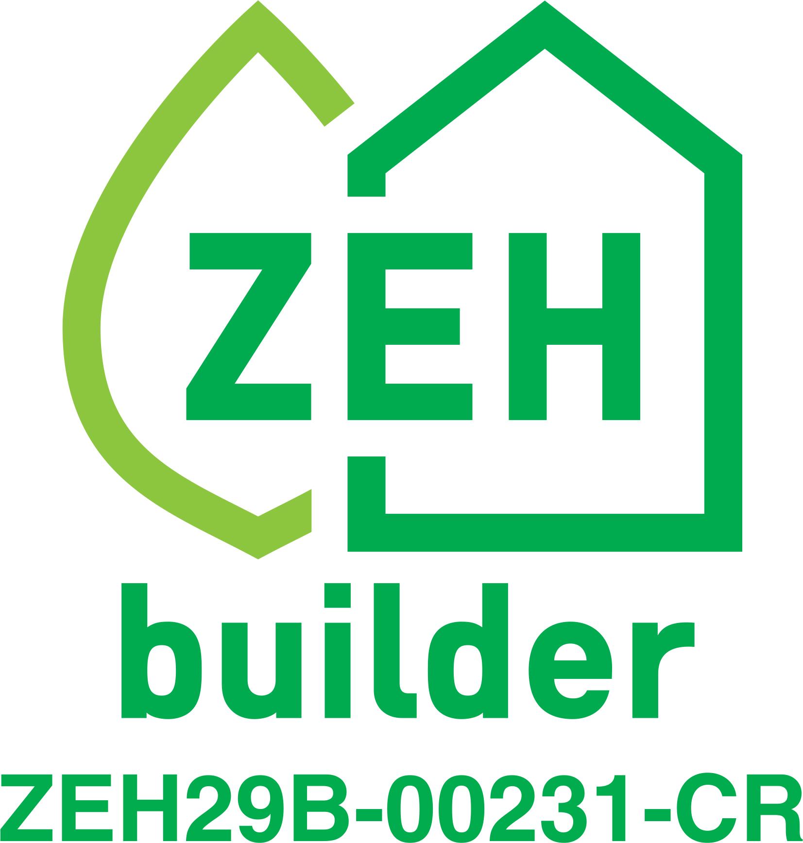 ZEHビルダーに登録されました!